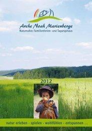 Prospekt 2012 (PDF) - Arche Noah Marienberge