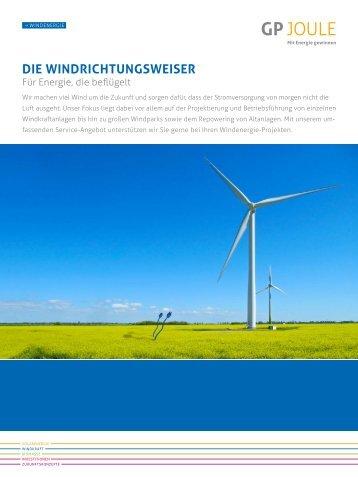 Produktblatt Wind - GP Joule