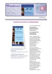 Newsletter - ++SYSTEMS news September 2012 I - tandler.com