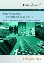 Fund investments - IPE Institutional Investment