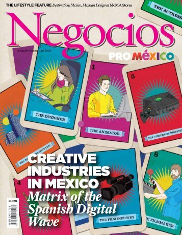 creative industries in mexico Matrix of the Spanish ... - ProMéxico