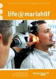 Das Magazin der Kliniken Maria Hilf GmbH | Mönchengladbach ...