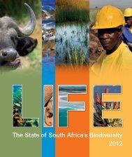 The State of South Africa's Biodiversity 2012 - Biodiversity GIS - SANBI