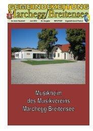 Gemeindezeitung Juni 2012 - Marchegg