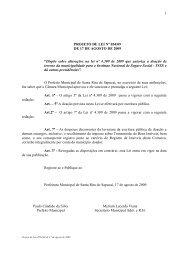 """1 PROJETO DE LEI Nº 054/09 DE 17 DE AGOSTO DE 2009 """"Dispõe ..."""