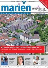 marien hospital-zeitschrift - Marienhospital Stuttgart
