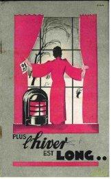 SURDIAC poele à récupération de chaleur. 1938 - Ultimheat