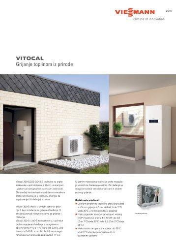 Akcijski letak Vitocal 200-S - Viessmann
