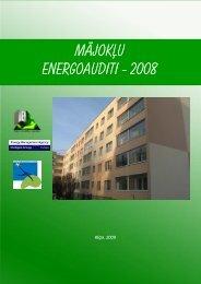 Mājokļu energoauditi - 2008 - Rīgas enerģētikas aģentūra