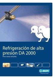 Refrigeración de alta presión DA 2000 - Skov A/S
