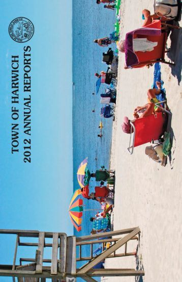 2012 Annual Town Report - Harwich