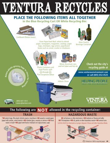 Recycling Flyer 08.indd - City Of Ventura