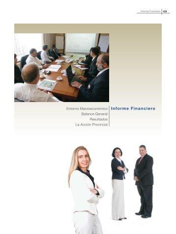 Informe Financiero - Banco Provincial