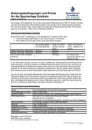 Goldrain Nutzungsbedingungen Preise Checkliste - Kinder- und ...