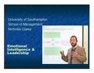 Emotional Intelligence & Leadership - Association for Project ...