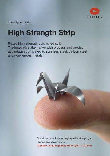 High Strength Strip - Tata Steel