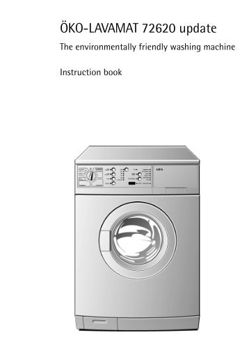lavamat magazines rh yumpu com AEG South Africa Electrolux Washing Machine