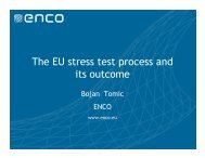 The EU stress test process and its outcome - Burges Salmon