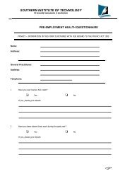 Pre-employment Health Request Form