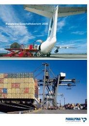 Panalpina Geschäftsbericht 2006