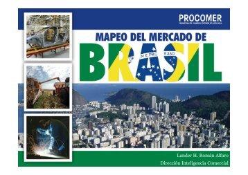 Logística de exportación Brasil, Agosto 2013 - Procomer
