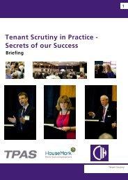 Tenant scrutiny in practice