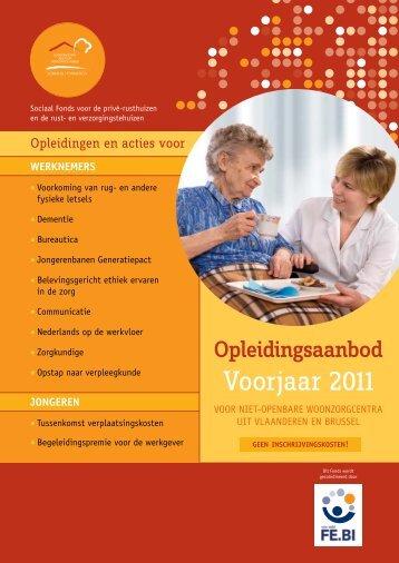 Voorjaar 2011 - Zorgnet Vlaanderen