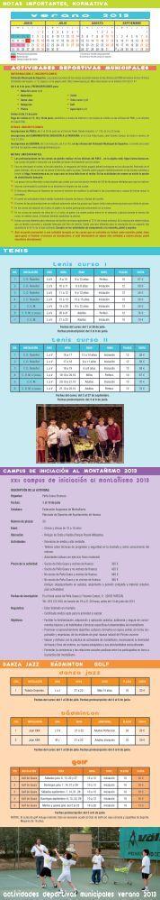 actividades verano 2013 - Ayuntamiento de Huesca