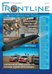 Frontline Issue 10 - Human Factors Integration Defence Technology ...