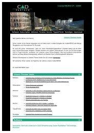 insiderNEWS von der CAD PARTNER GmbH - Die Kompetenz für ...