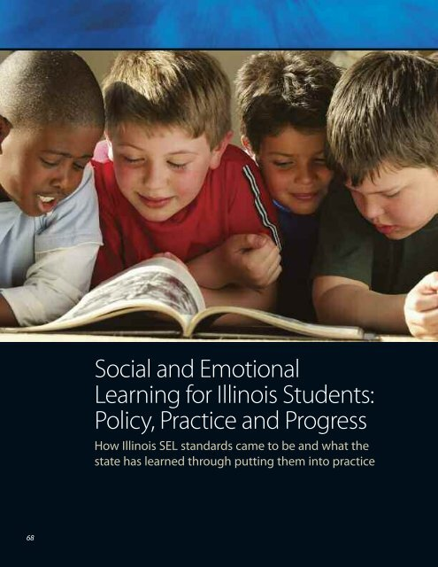 Social and Emotional Learning for Illinois Students - Institute of ...