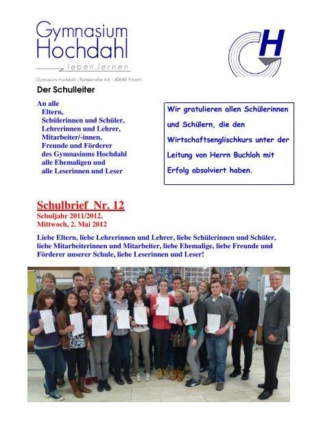 2012-05-03 Gymnasium Hochdahl: Schulbrief - Wirtschaftskreis ...