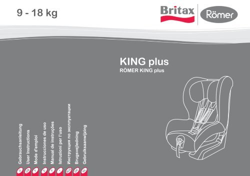KING plus 9 - 18 kg - Britax Römer