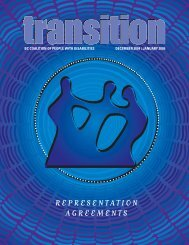 December 2004/January 2005 Transition Magazine