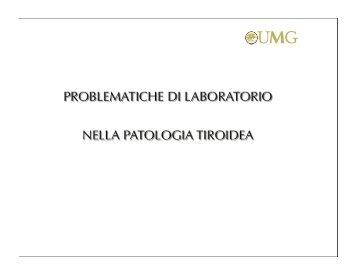 Tiroide - Patologia Clinica