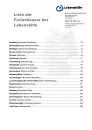 Ferienhäuser der Lebenshilfe (pdf - 7.2 MB) - Bundesvereinigung ...