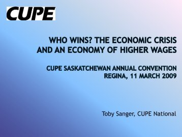 The Economic Crisis and an Economy of Higher Wages (PDF)