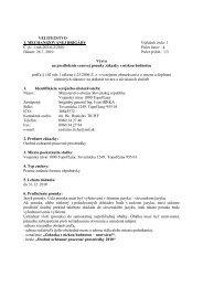 VÚ 1090 Topoľčany - Osobné ochranné pracovné prostriedky