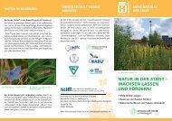 Natur in der Stadt - Botanischer Verein zu Hamburg