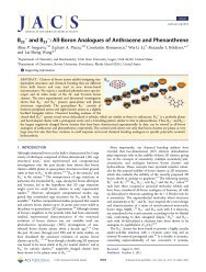 All-Boron Analogues of Anthracene and Phenanthrene - American ...