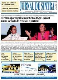 21 924 62 00 - Telefone alternativo - Jornal de Sintra