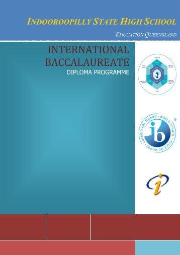 International Baccalaureate - Indooroopilly State High School ...
