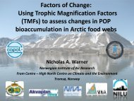 Using trophic magnification factors - Schema.lu