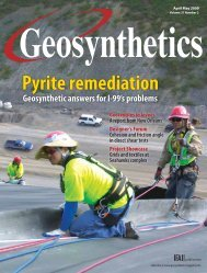 Geosynthetics, April May 2009, Digital Edition