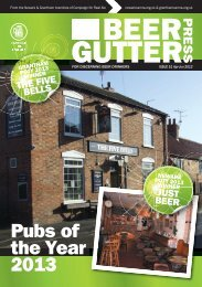 Pubs of the Year 2013 - Newark CAMRA