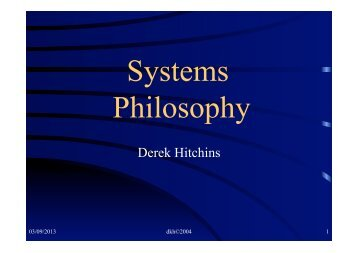 Systems Philosophy.pdf - Systems World