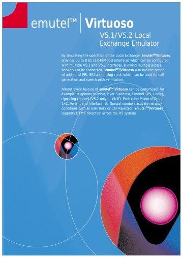 emutelTM Virtuoso - Arca Technologies