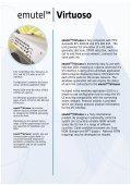 emutelTM Virtuoso - Arca Technologies - Page 2