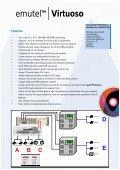 emutelTM Virtuoso - Arca Technologies - Page 3