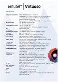 emutelTM Virtuoso - Arca Technologies - Page 4